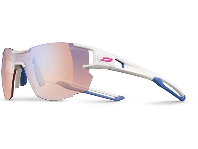 Julbo Aerolite Zebra Light Gafas de sol Mujer, white/blue